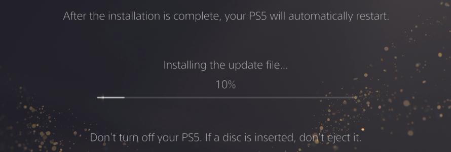Réinstaller la version système sur la PS5